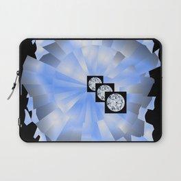 Spacy Diamonds Laptop Sleeve