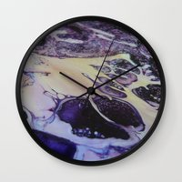 exo Wall Clocks featuring Exo- Birth Series I by Melina Green