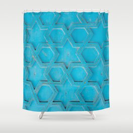 The Stars Shine Brightly - Essaouira, Morocco Shower Curtain