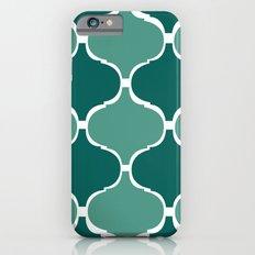 Marrakech Pattern Dark Green iPhone 6s Slim Case