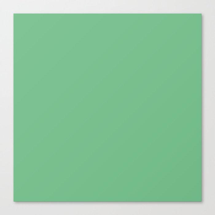 Island Green Canvas Print