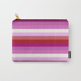 Lesbian Pride Flag v2 Carry-All Pouch