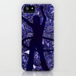Hoop Dreams (Hula Hooper and Mandalas) iPhone Case