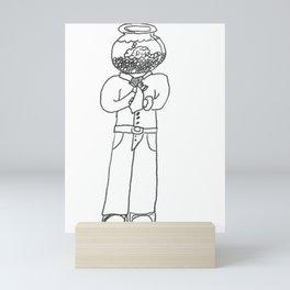 Hangover Brain Mini Art Print
