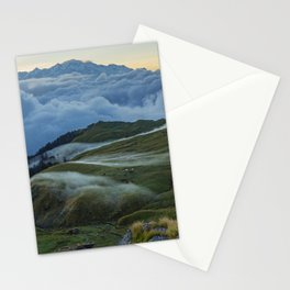 The Alpine Pastures of Rudranath Stationery Cards