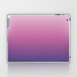 Pink Ultra Violet Ombre Gradient Pattern Laptop & iPad Skin