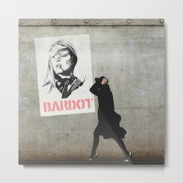 Bardot Metal Print