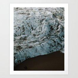 Glacier Lagoon (Fjallsarlon) Art Print
