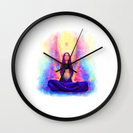 The Chakra Beauty Wall Clock