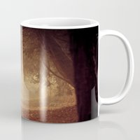 narnia Mugs featuring Where's the white rabbit?  by Sparks of Fire