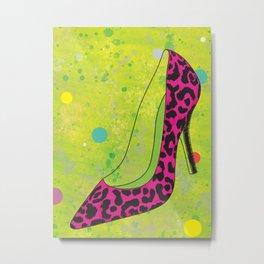 Betsey Shoe Metal Print