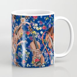 Midsummer Night Festival | Navy w Ribbons Coffee Mug