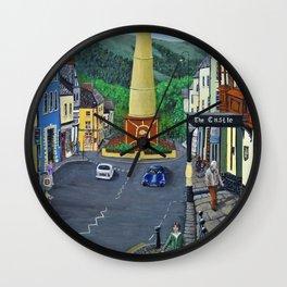 Tredegar Town Clock Wall Clock
