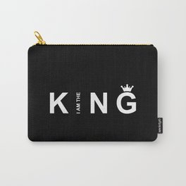 I Am The King #society6 #decor #buyart #artprint Carry-All Pouch