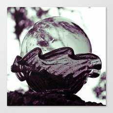 Glass sphere Canvas Print