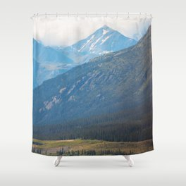Sloping Hillsides Shower Curtain