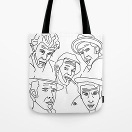 Tom Waits Whisky in a Teacup Tote Bag