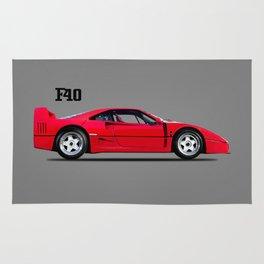 The F40 Berlinetta Rug