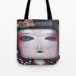 Inevitable silense  Tote Bag