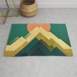 Gold Peak Rug