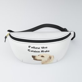 Golden Retriever Pun Design Fanny Pack