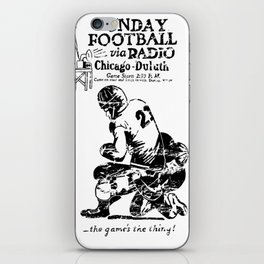 Chicago-Duluth-Radio iPhone Skin