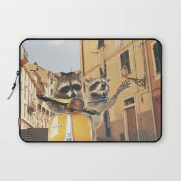 Raccoons on the road trip Laptop Sleeve