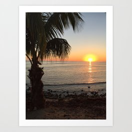 Island Sunset Art Print
