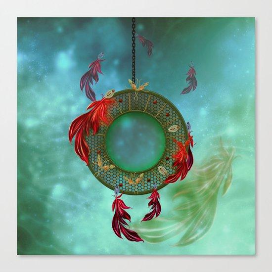 Wonderful dreamcatcher Canvas Print