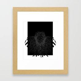 o, i'll spill Framed Art Print