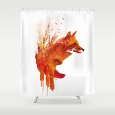 Plattensee Fox Shower Curtain