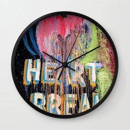 F**k Heart Break Wall Clock