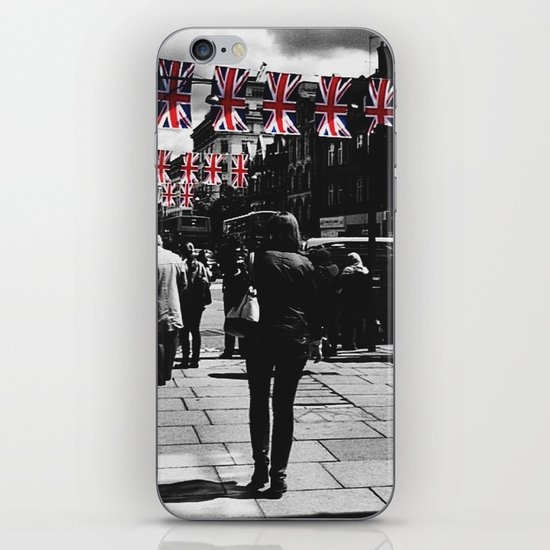 Jubilee Walk iPhone & iPod Skin