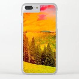 Lovly Wander Clear iPhone Case