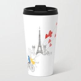 Paris in Love Travel Mug
