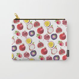 Mixed fruit pattern Carry-All Pouch