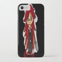 kuroshitsuji iPhone & iPod Cases featuring Grell by Lexey Sheridan