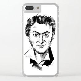 Hoffmann Clear iPhone Case