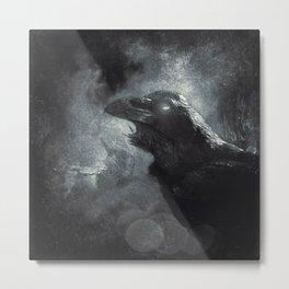 mystic raven II Metal Print