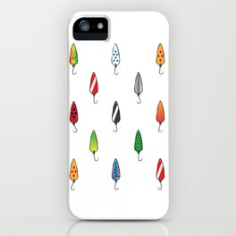 Fishing Spoons iPhone Case