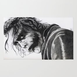 The joker - Heath Ledger Rug