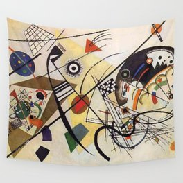 Transverse Line, Abstract, Wassily Kandinsky, 1923 Wall Tapestry