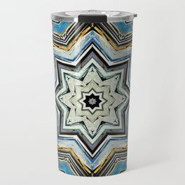 Eight Points of Texture Travel Mug