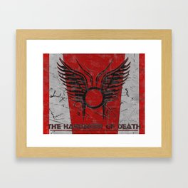The Harbinger of Death Framed Art Print