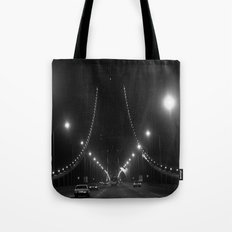 Late Nights on the Bay Bridge Tote Bag