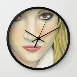 Brit Bitch Wall Clock