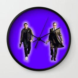 Eggsy and Harry Wall Clock