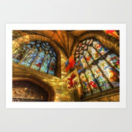 St Giles Cathedral Edinburgh Art Print