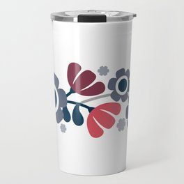 Simple flowers Travel Mug