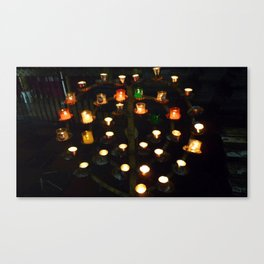 candle alter Canvas Print